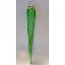 Everlasting Icicle Ornament - Green