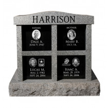 Harrison Cremation Monument