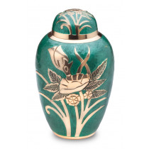 Emerald Rose Urn
