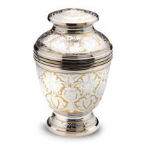 Ornate Floral Urn