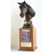 Horseman's Cremation Urn