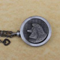 Poodle Pet Memory Medallion