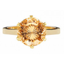 Crystal Portuguese Ring (3 Metal Options)