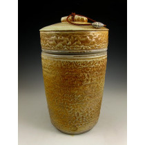 The Quiet Warm Sands Soda Fired Urn