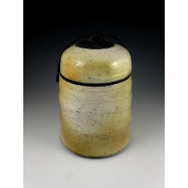 The Quiet Warmth Raku Urn