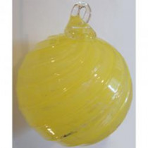 Timeless Sphere Ornament - Yellow