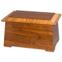 Sonata Bamboo Cremation Urn for Ashes
