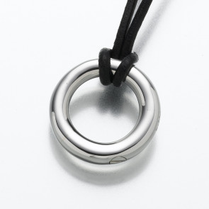 The Circle of Life Eternity Cremation Pendant in Sterling Silver
