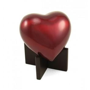 Ruby Arielle Heart Urn