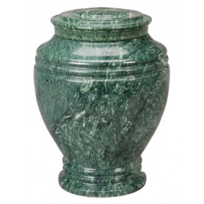 Green Earth Marble Urn