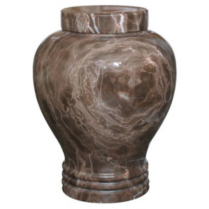 Tiger Eye Marble Urn