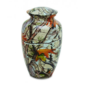 Camouflage 2 Cremation Urn for Ashes