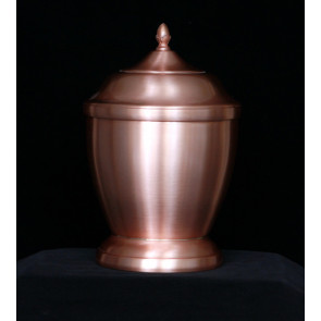 Handmade Copper Urn 702