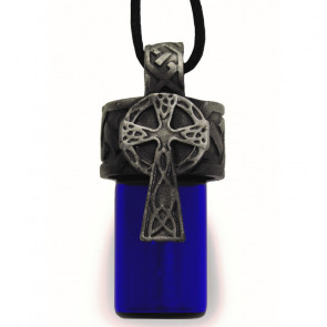 Celtic Cross Bottle Pendant