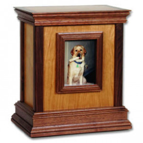 Framed Contemporary Urn