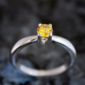 Fancy Round Cut Ring