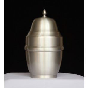 Handmade Pewter Urn 201