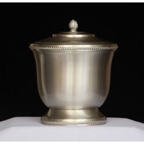 Handmade Pewter Urn 901