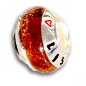 Amber Cremation Bead
