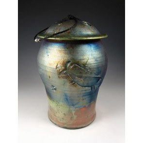 The Animal Spirit Raku Ceramic Cremation Urn