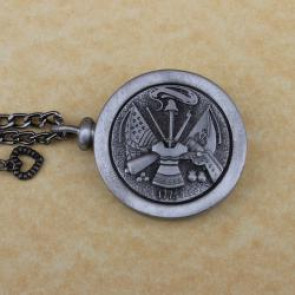 Army Memory Cremation Medallion