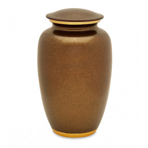 Autumn Gold Cremation Urn for Ashes