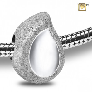 Silver TearDrop Cremation Bead