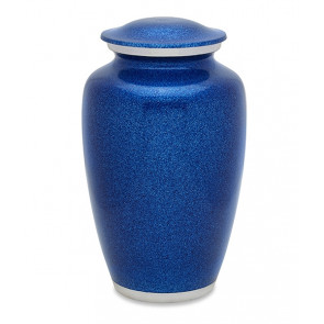 Blue Pearl Cremation Urn for Ashes