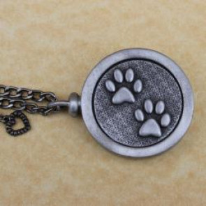 Cat Paws Pet Memory Cremation Medallion
