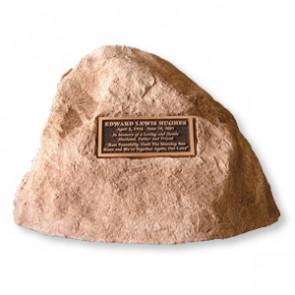 Celebration Rock Cremation Monument - Front