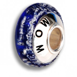 Deep Blue Cremation Bead