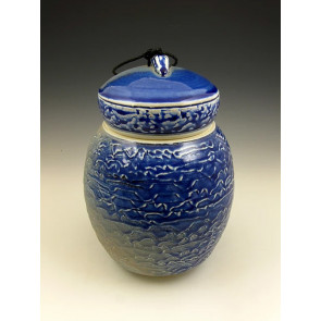 The Distant Shores Soda Fired Ceramic Cremation Urn