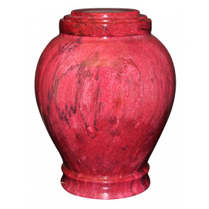 Embrace Red Urn