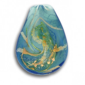 Blue Sky Cremation Pendant