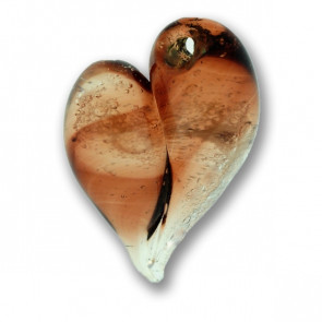 Honey Heart Cremation Pendant