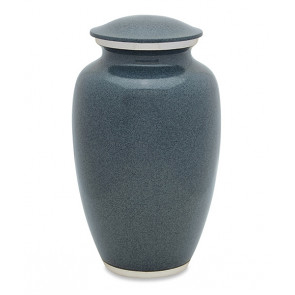 Grey Wolf Granite Cremation Urn for Ashes