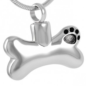 Paw Bone Cremation Pendant