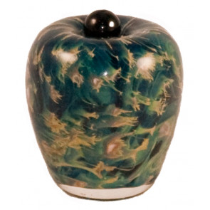 Classico Nuvole Hand Blown Glass Keepsake Cremation Urn
