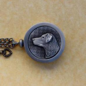 Labrador Pet Memory Cremation Medallion