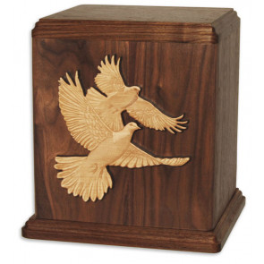Inlay Art Cremation Urn for Ashes