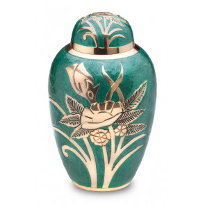 Emerald Rose Cremation Urn