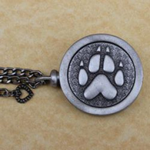 Memorial Paw Pet Memory Cremation Medallion