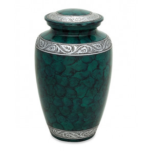 Middleton Royal Green Cremation Urn for Ashes