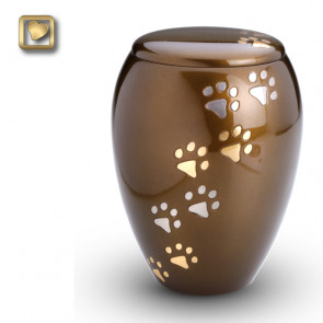 Majestic Paws Pet Cremation Urn for ashes