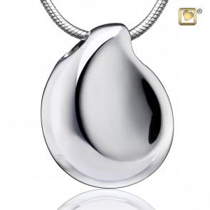 Silver TearDrop Cremation Pendant