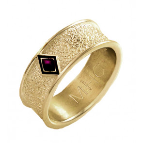 Phoenix Band Ring in 14k Yellow Gold