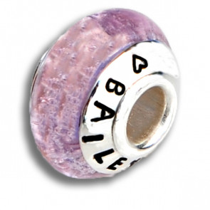 Pink Clouds Cremation Bead