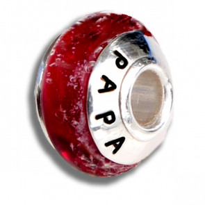 Ruby Red Cremation Bead