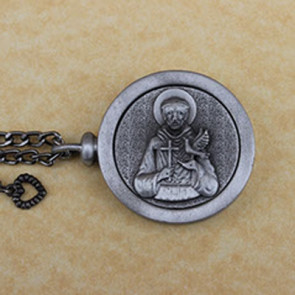 Saint Francis Memory Cremation Medallion
