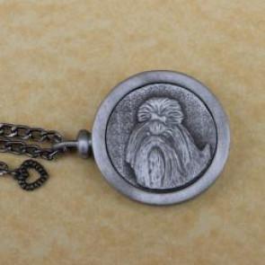 Shih Tzu Pet Memory Cremation Medallion
